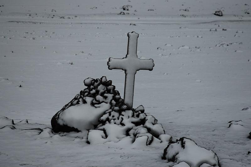 Deception Island grave