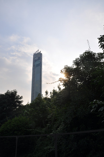 A cool skyscraper.