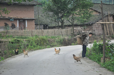 More of the local farmer housing, replete with young agriculturalists and livestock.