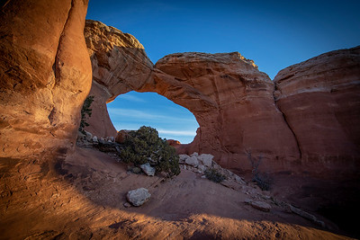 Broken Arch in Arches NP