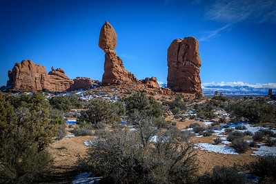 Balanced Rock in Arches NP