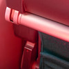 Abstract: Seat of the airplane, the red color comes from the reflection of my shirt