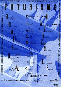 Manifesto Futurista, Tallone Press, 2009, elaborated with typographic inks by Enrico Tallone. Only copy.