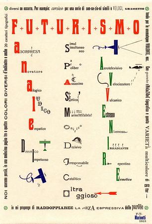 Experimental Typography - Tipografia sperimentale
