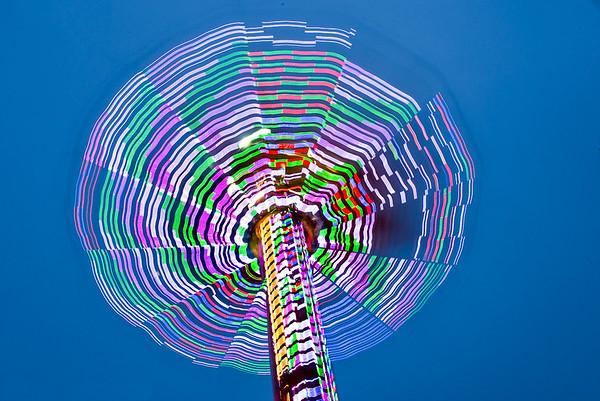 Carnival Lights in Motion