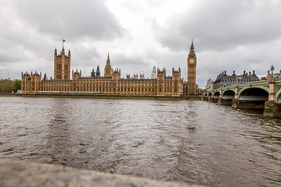 London Westminster, Natural HDR, 3 eposures