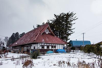 An old Farmhouse in Tohoku.