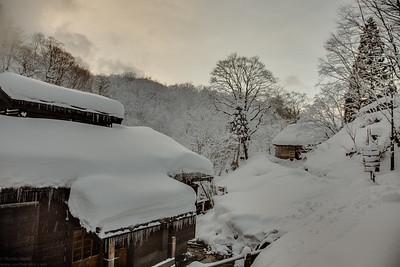 Magoroku Onsen in the Nyoto hto spring area.
