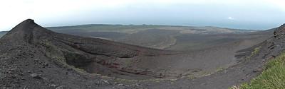 Mihara yama 三原山 on Oshima 大島 island B 2 crater.