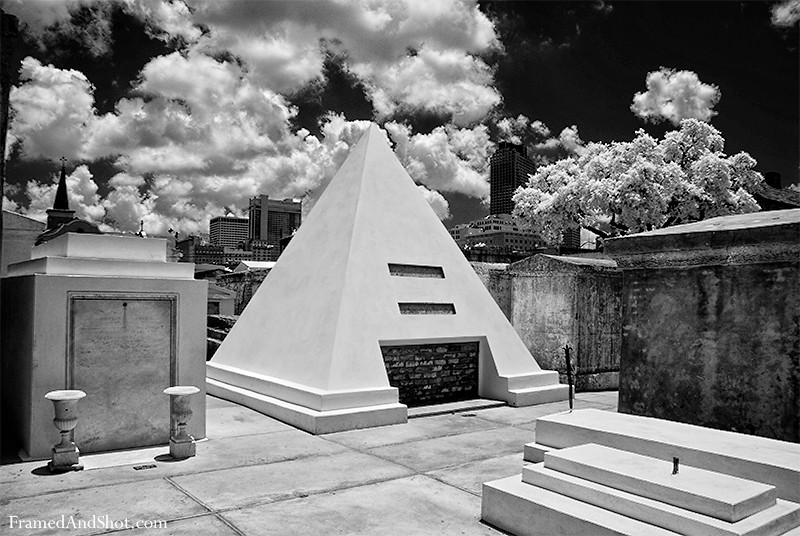 St. Louis Cemetery – New Orleans<br /> Saint Louis Cemetery No. 1, replaced the now vanished St. Peter Cemetery as the main burial ground in 1788 when New Orleans lost many citizens to an epidemic and a great fire. it contains approximately of 700 tombs, tomb ruins and markers in small urban-like precincts. The tombs are owned by individuals, families and societies and most are above ground – for obvious reasons, no grave could be dug of the usual depth without coming to water …