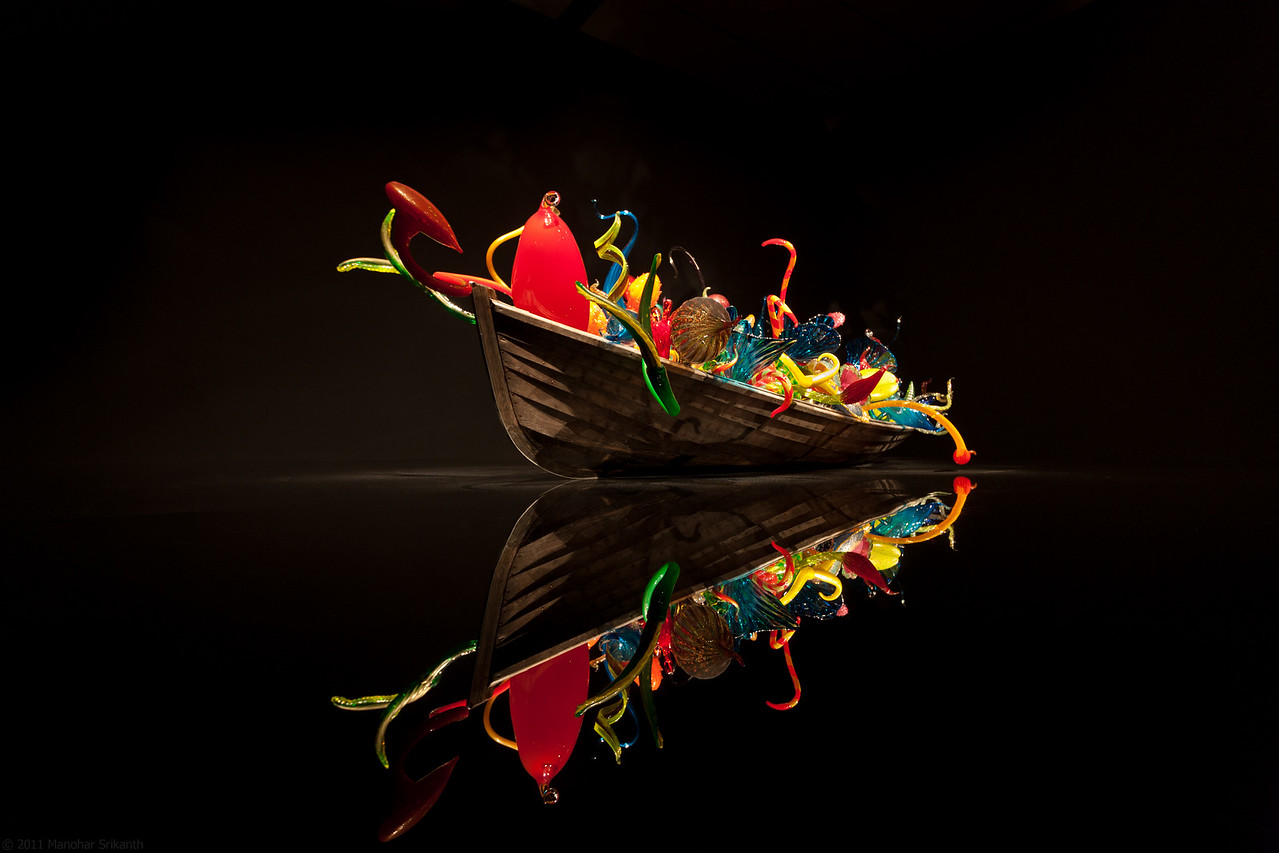 Chihuly's Boat