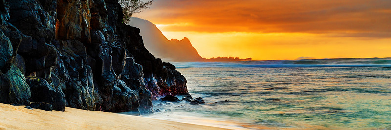 Evening at Princeville