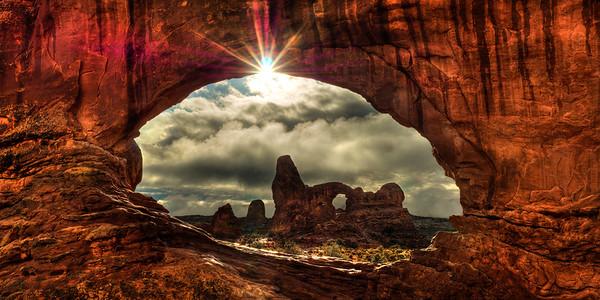 North Window Sunburst