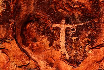Holy Man Petroglyph #1