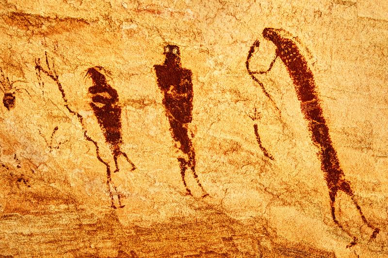 Barrier Canyon Spirits #5