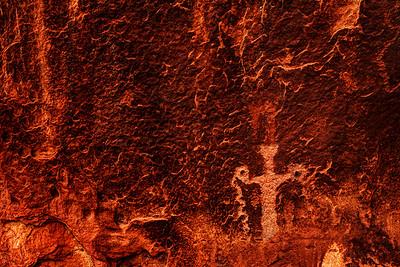 Holy Man Petroglyph #2