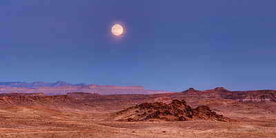 Moonrise Over Mars