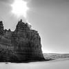 Sun Over Mystery Butte
