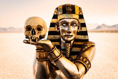 Egyptian Vampire Skull #1