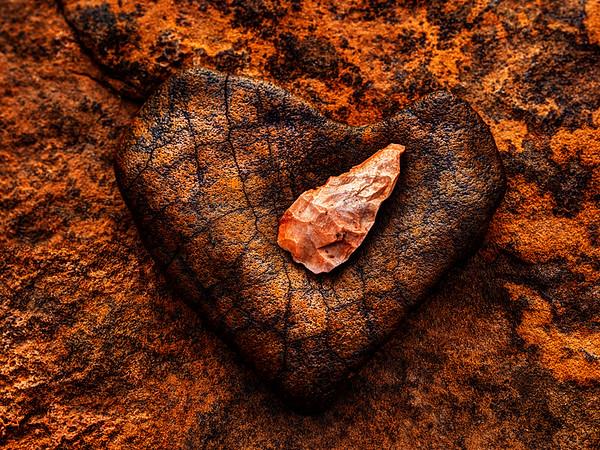 Spear Point on Heart Rock