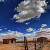 Big Sky Over the Frenchman's Fence