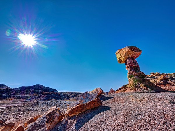 Balanced Rock at Fingerland