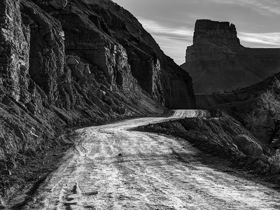 Road to Gunnison Butte