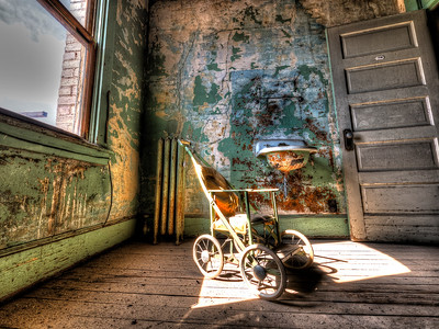 Haunted Ghost Baby Room 114