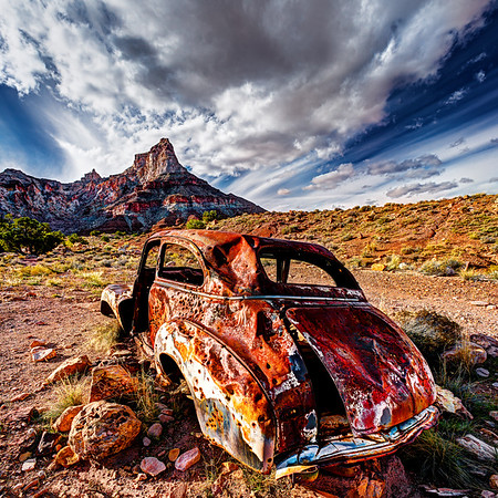 Holey Car
