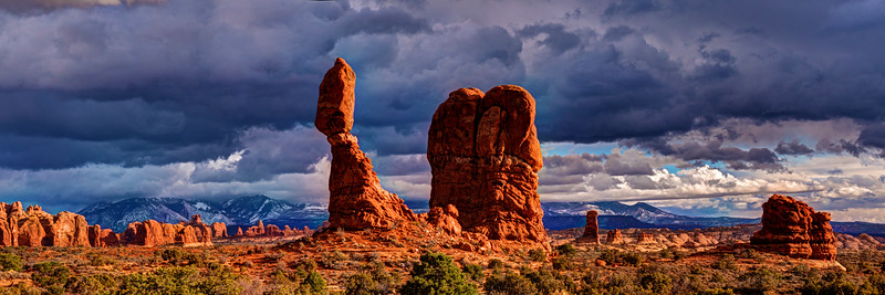 Balanced Rock Landscape