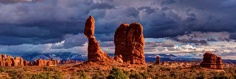 Balanced Rock Landscape