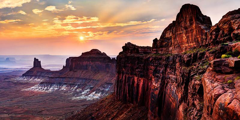 Evening at Canyonlands