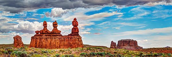 Fossilized Rock Gods