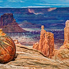 Goat Testicle Gourd In Canyonlands