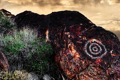 Petroglyph Target
