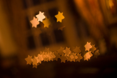 Star Bokeh  And now with stars.