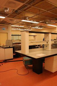 het lab