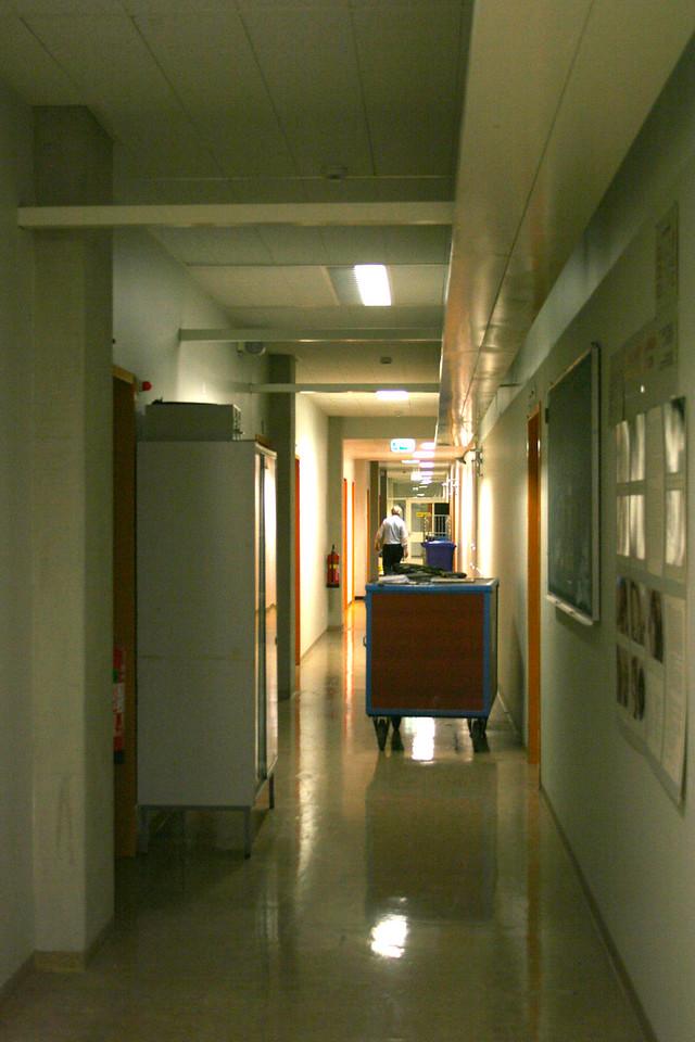 24 oktober 2005 K0 is eindelijk leeg. De verbouwing kan beginnen.