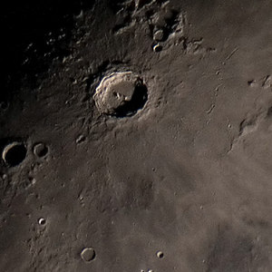 Copernicus crater (Takahashi TSA-102 + Olympus E-330)