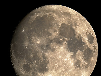 Almost Full Moon (6 October 2006)