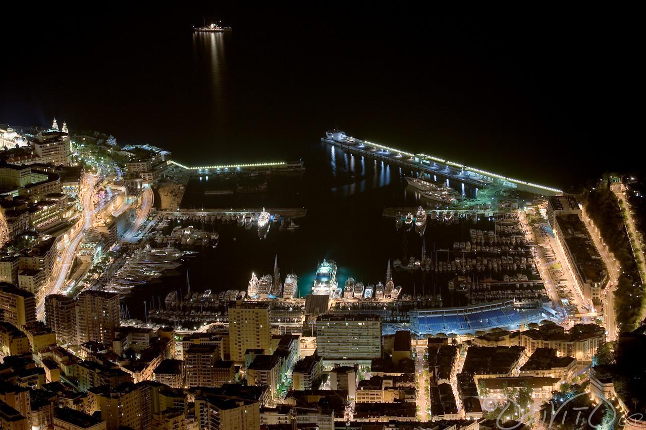 Port Hercule Marina of Monte Carlo Formula 1 Track
