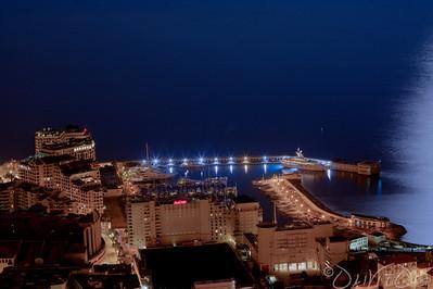 Port de Cap d'ail  et Hotel Marriot