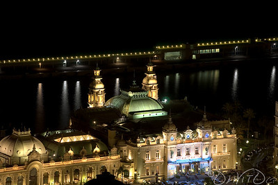 Famous Monte Carlo Casino  closer view