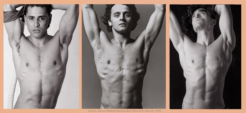 By Richard Avedon, Dancer Mikhail Baryshnokov, New York, June 20, 1978