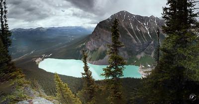 Lake Louise Pano