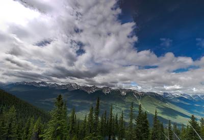 Banff Gondola Pano 1