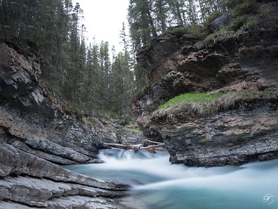 Johnston Canyon UpperFall