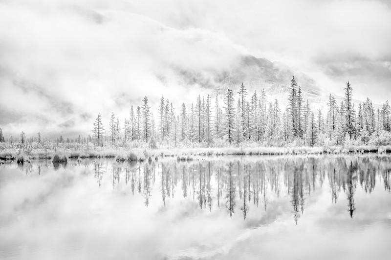 Clearing Storm - Vermilion Lake, Alberta