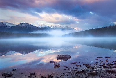 Quiet Sunrise - Patricia Lake, Alberta, Canada