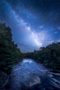 Sagittarius Over The Wolf River